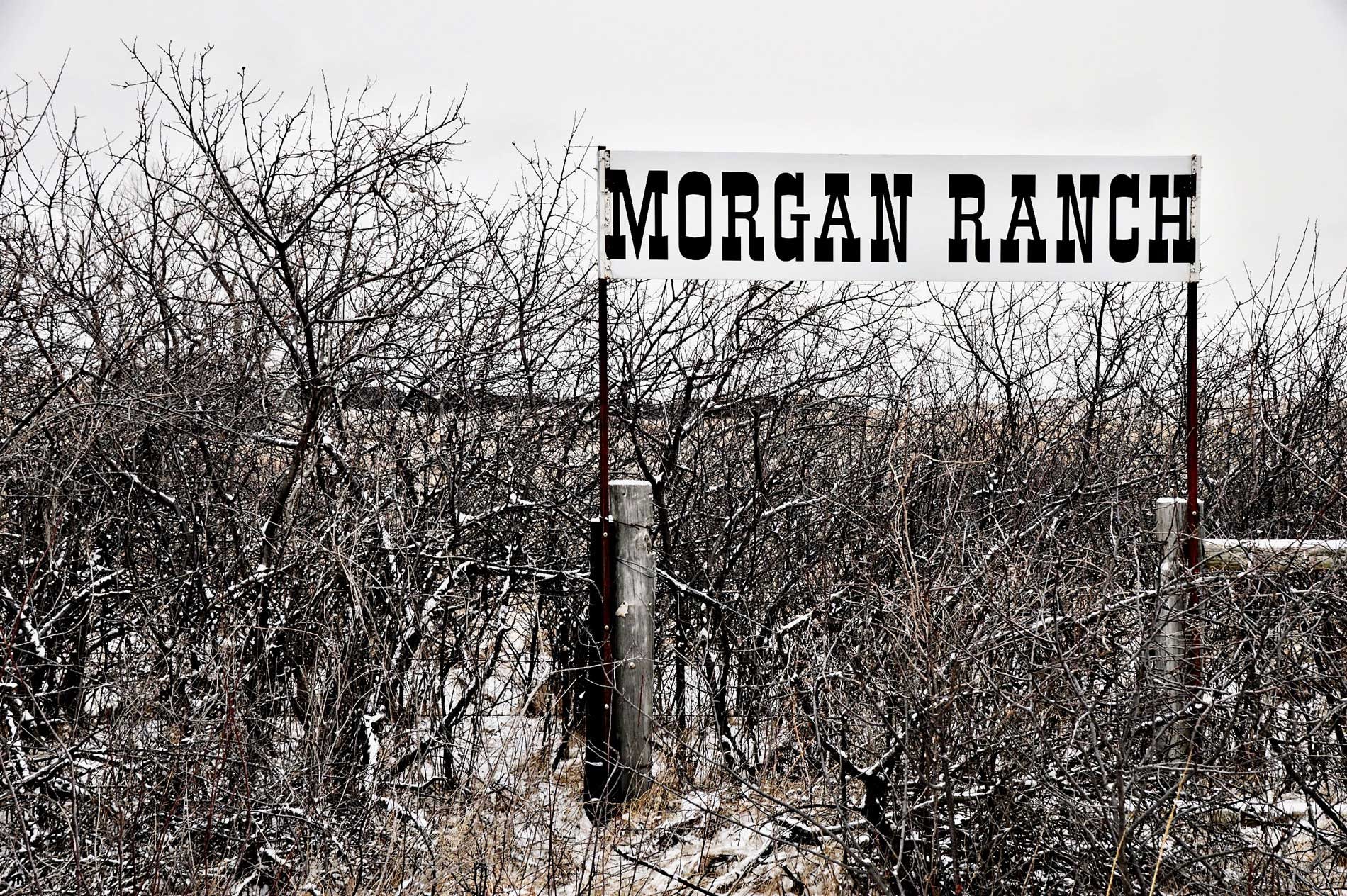 Morgan Ranch Schild