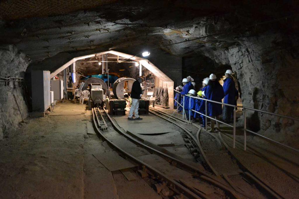 Führung im Zinkerzbergwerk Ramsbeck - Höhlen und Schaubergwerke