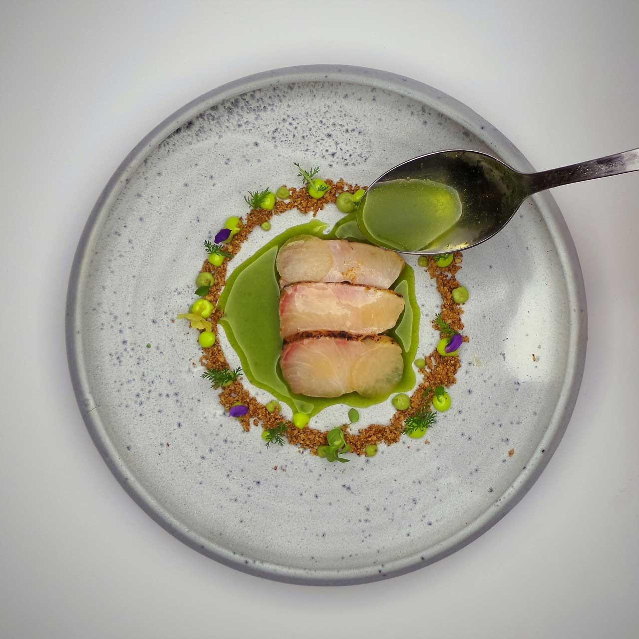 Heiko Lacher, Restaurant ANIMA, Gericht