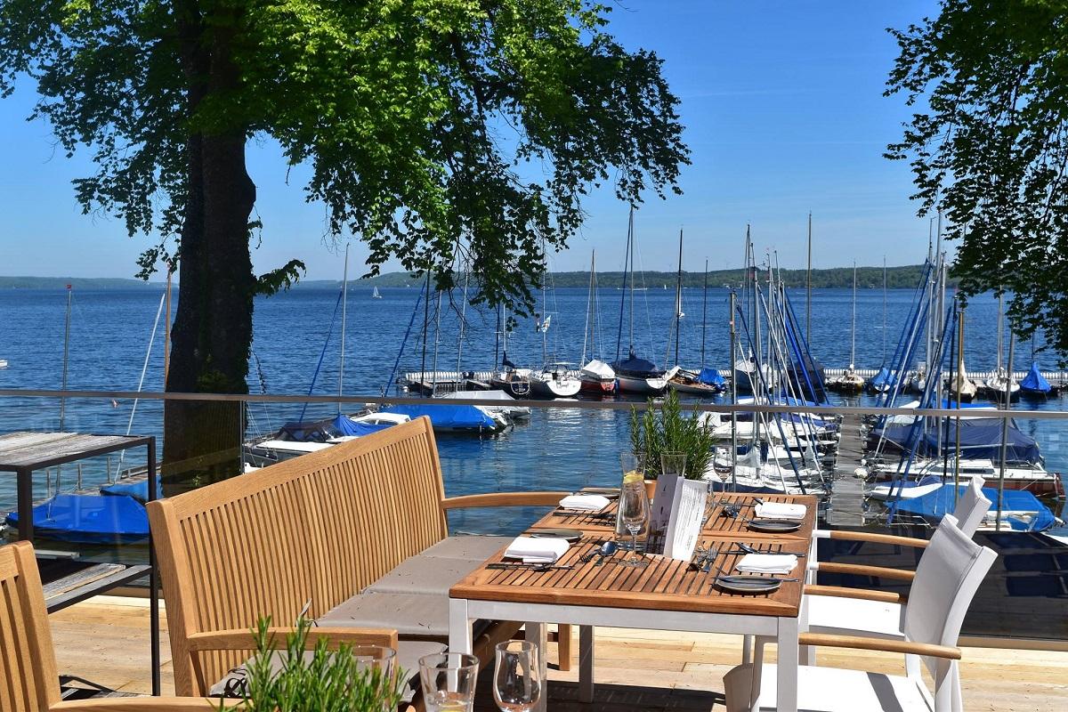 Marina in Bernried am Starnberger See