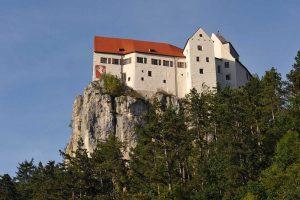 Burg Prunn bei Riedenburg - Fünr-Flüsse-Radweg