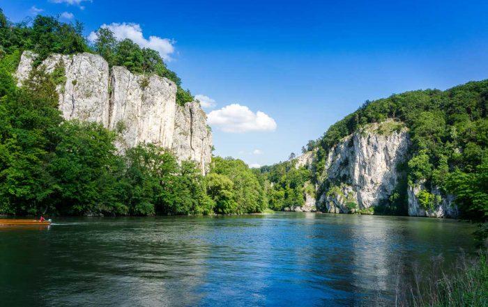 Donaudurchbruch bei Kelheim - Fünf-Flüsse-Radweg