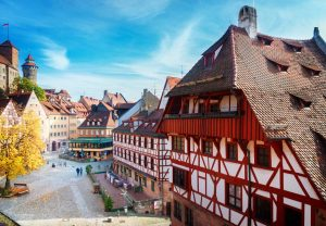 Nürnberger Altstadt - Fünf-Flüsse-Radweg