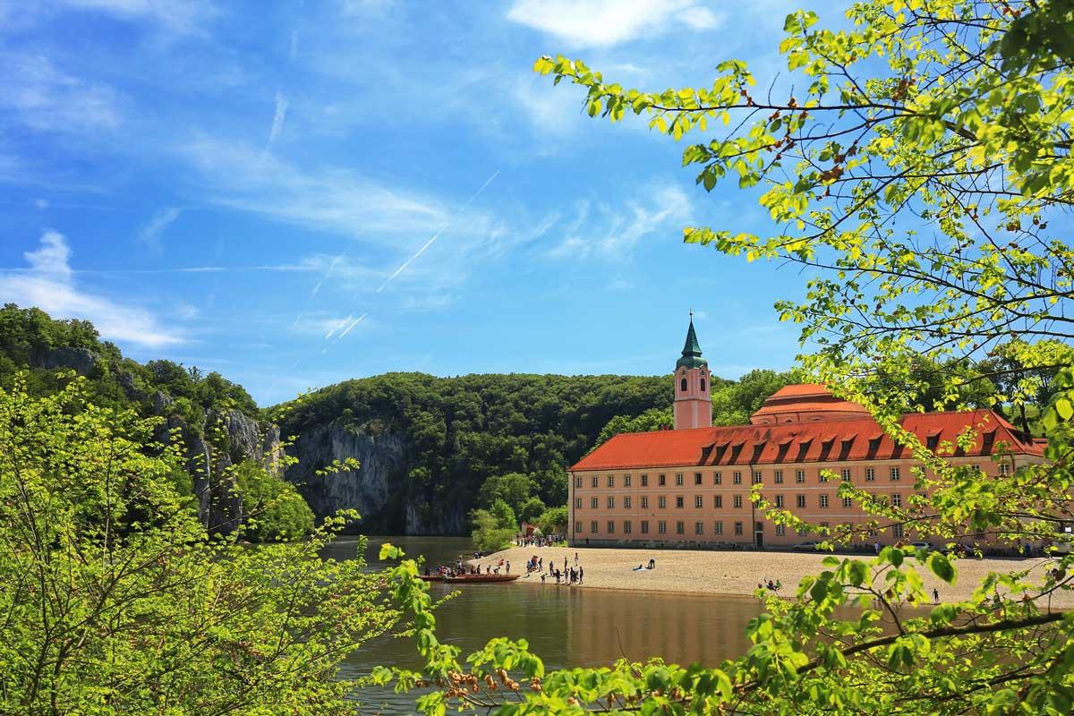 Kloster Weltenburg - Fünf-Flüsse-Radweg
