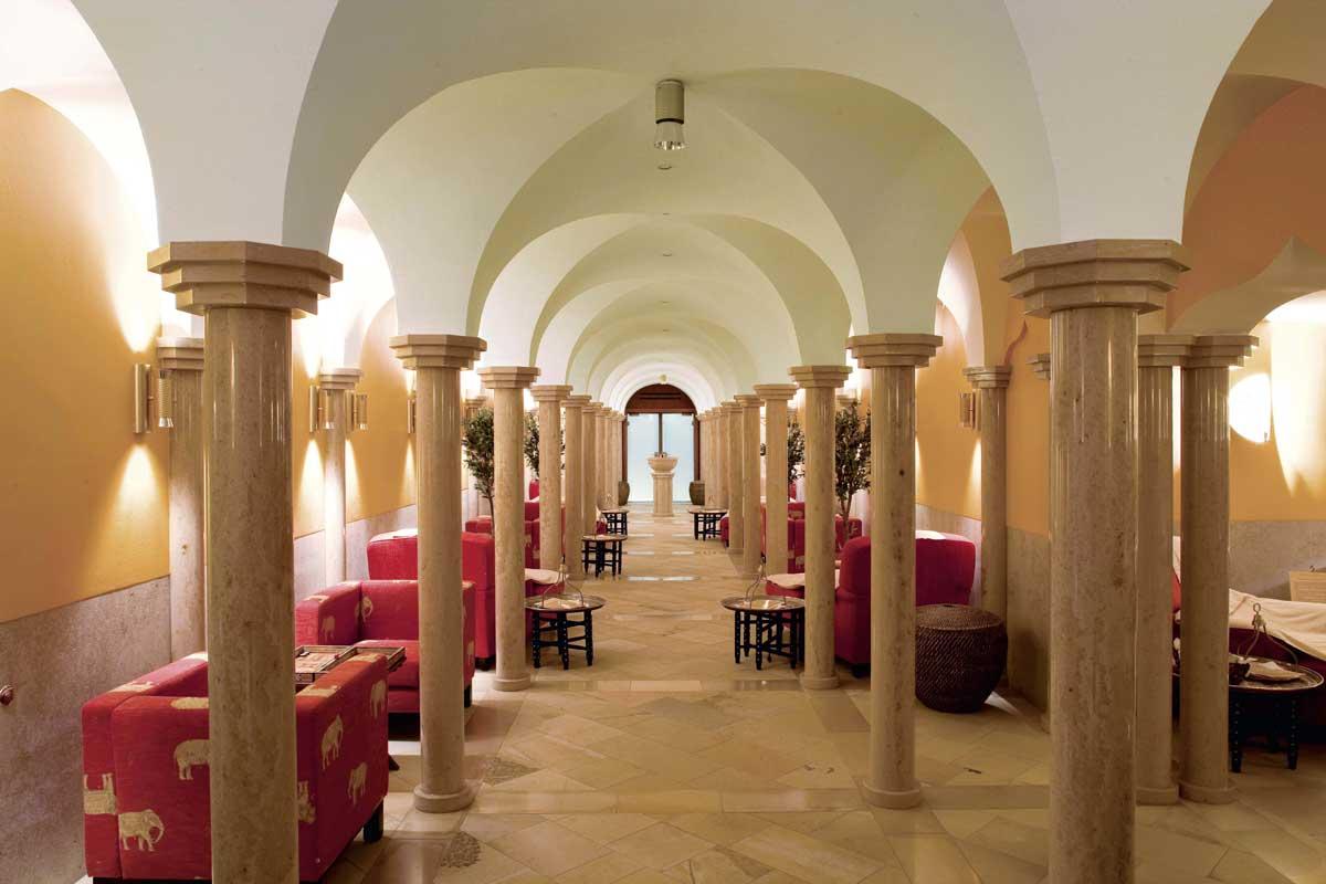 Hamam im Hotel Schloss Elmau