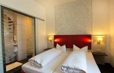 Doppelzimmer im Hotel am Markt in Greding im Altmühltal