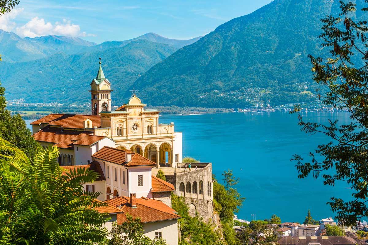 Wallfahrtskirche Madonna del Sasso, Locarno - Lago Maggiore