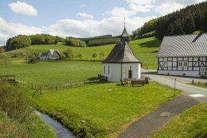 Fachwerk-Idylle bei Eslohe - Sauerland-Höhenflug