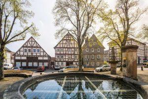 Marktplatz Korbach - Sauerland-Höhenflug