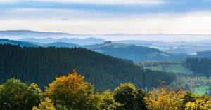 Sauerland Panorama - Sauerland-Höhenflug