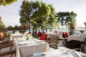 Terrasse Restaurant Kleines Meer, Müritz