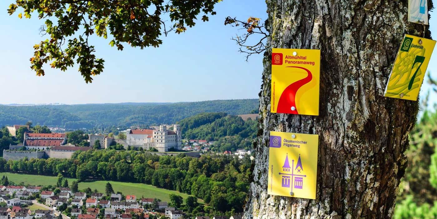Wandern zwischen Greding und dem Naturpark Altmühltal - Hotel am Markt, Greding