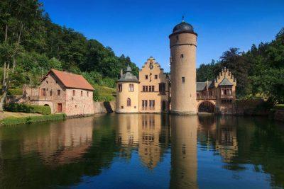 Schloss Mespelbrunn im Spessart