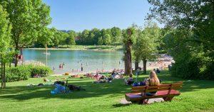 Breitenauer-See im Sommer