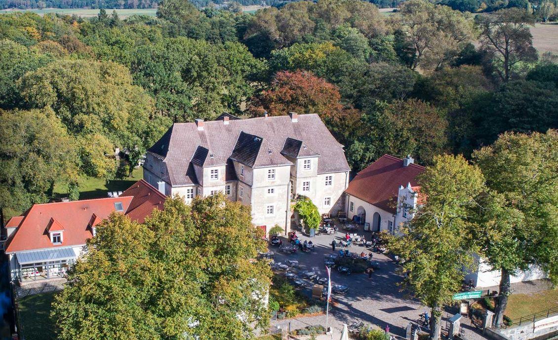 Wasserschloss Mellenthin, Usedom
