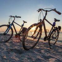 Radfahren am Meer - Radtouren für den Frühling