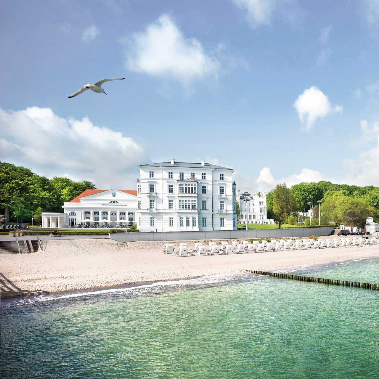 Außenansicht, Grand Hotel Heiligendamm