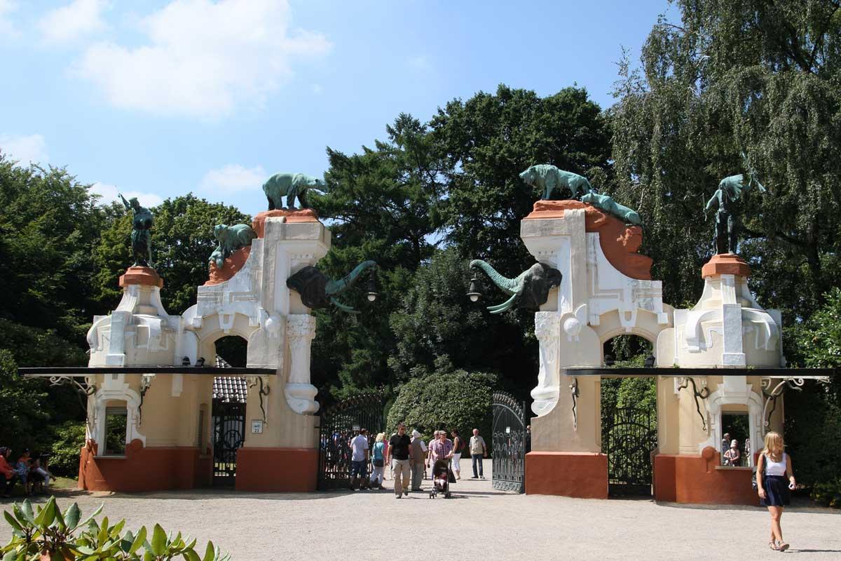 Tierpark Hagenbeck, Historisches Tor - Zoos Deutschland