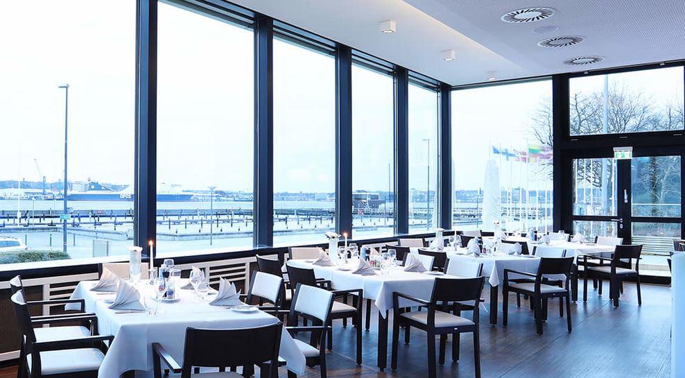 Restaurant im Hotel Kieler Yacht Club