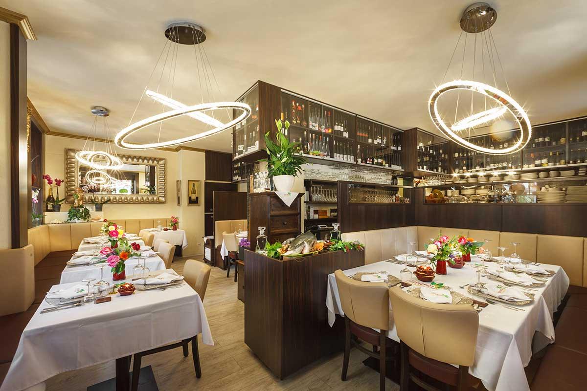 Innenansicht, Restaurant Savarin