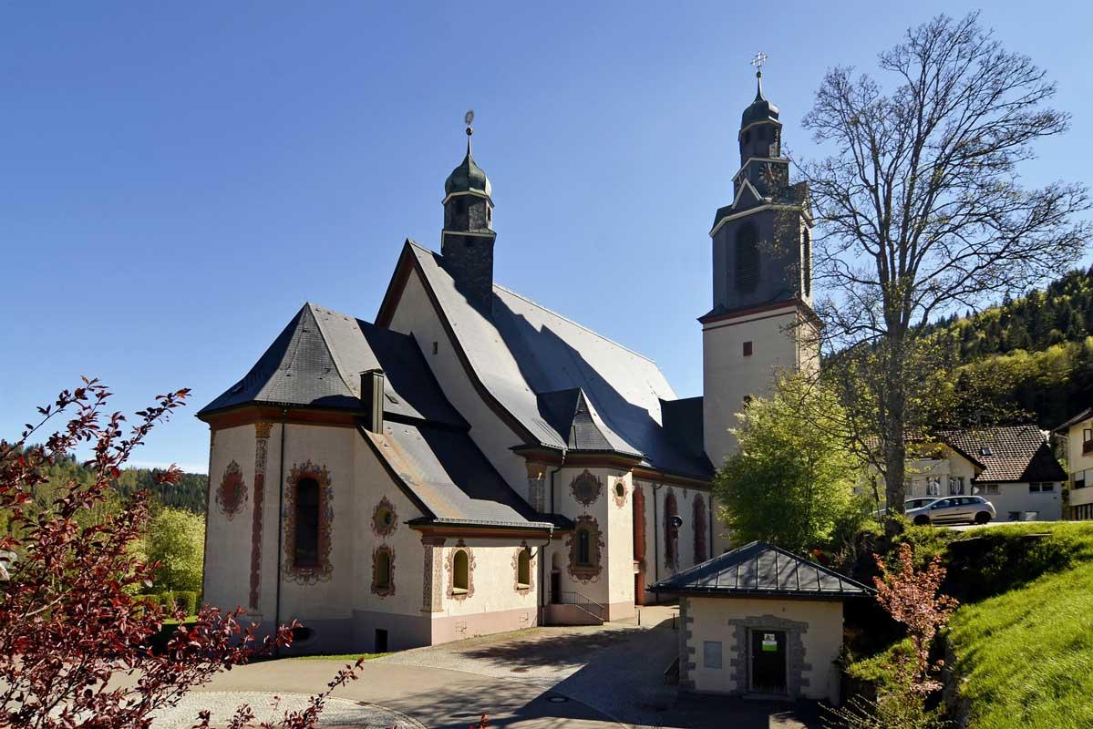 Pfarrkirche Todtmoos - Schluchtensteig