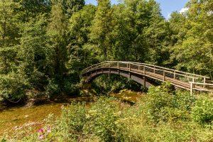 Brücke über die Wutach - Schluchtensteig