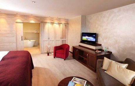 Zimmer im Hotel Waldhaus
