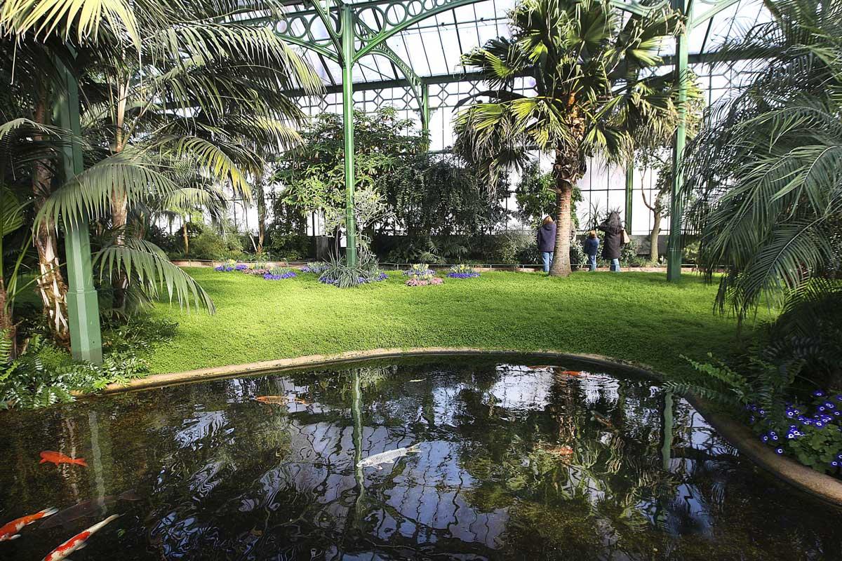 Wintergarten in der Wilhelma - Zoos Deutschland