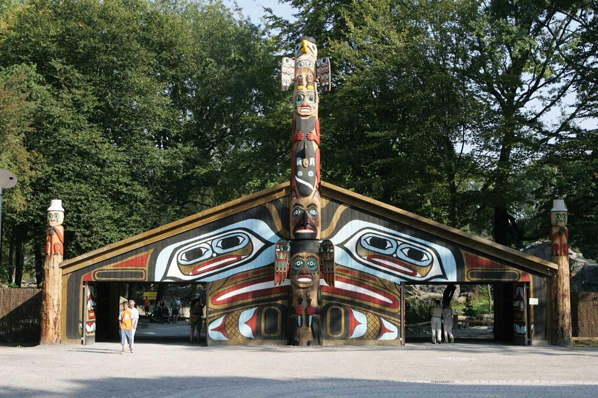 Alaska-Portal in der Zoom Erlebniswelt Gelsenkirchen - Zoos Deutschland