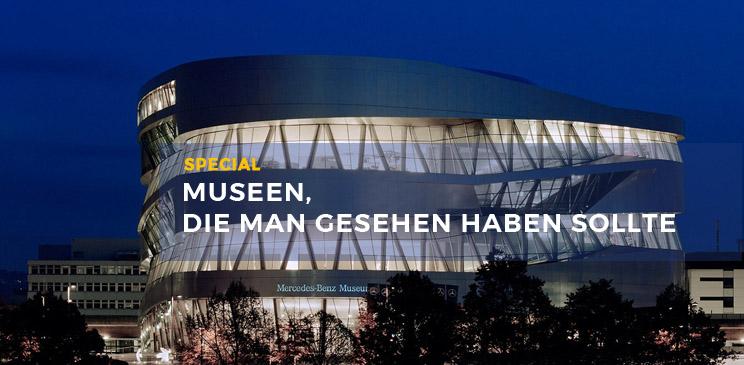 Ansicht Mercedes Museum
