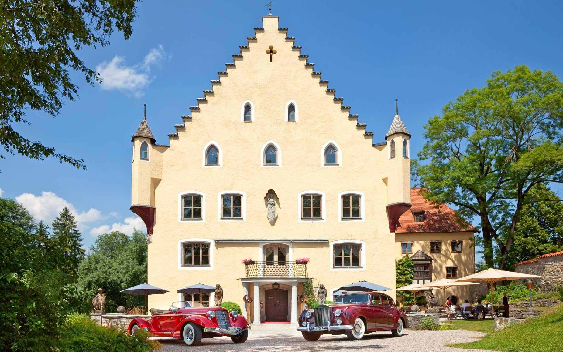 Schloss zu Hopferau, Allgäu