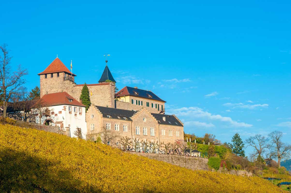 Schloss Eberstein, Gernsbach - Ortenauer Weinpfad