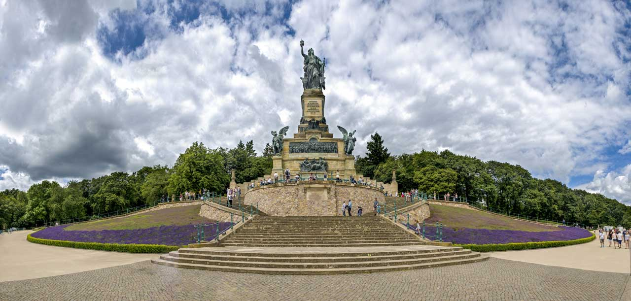 Niederwalddenkmal - Rheingauer Rieslingpfad
