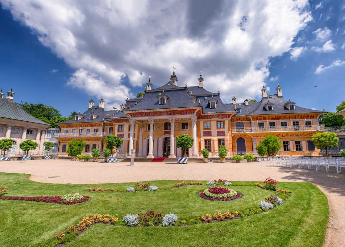 Schloss Pillnitz - Der Sächsische Weinwanderweg