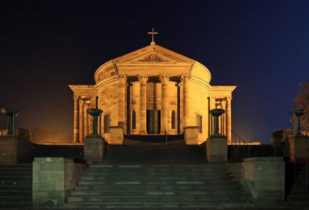 Grabkapelle auf dem Rotenberg - Stuttgarter Weinwanderwege