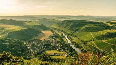 Blick ins Nahetal - Weinwanderweg Rhein-Nahe