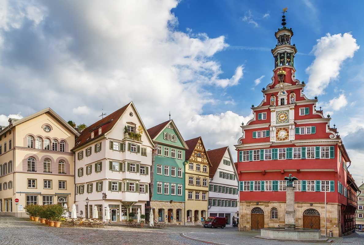 Altstadt Esslingen am Neckar - Der Württembergische Weinwanderweg