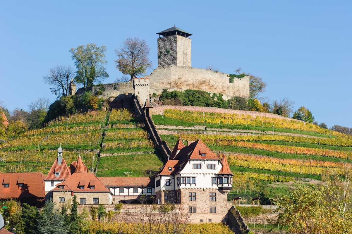 Burg Hohenbeilstein - Der Württembergische Weinwanderweg
