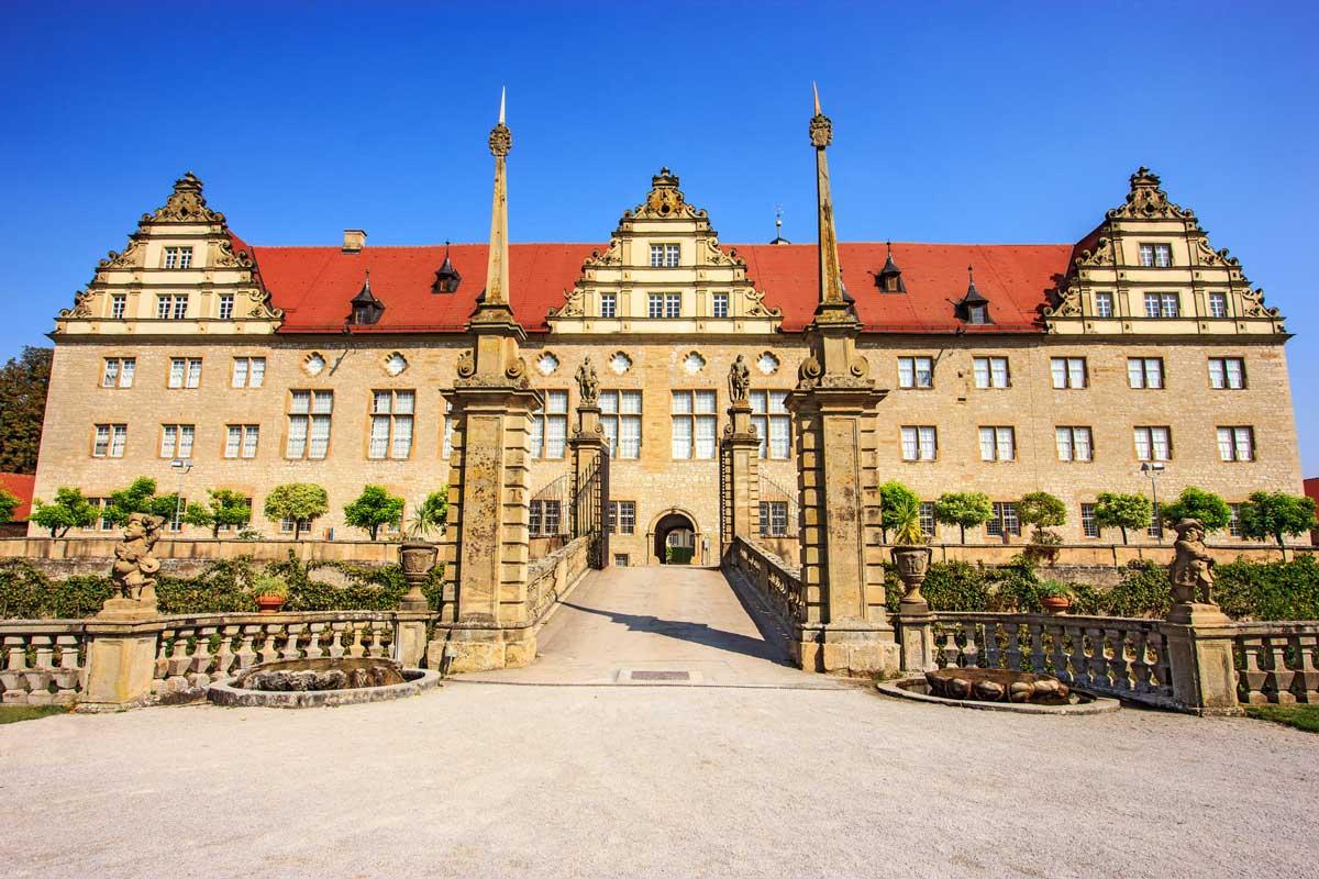 Schloss Weikersheim - Der Württembergische Weinwanderweg