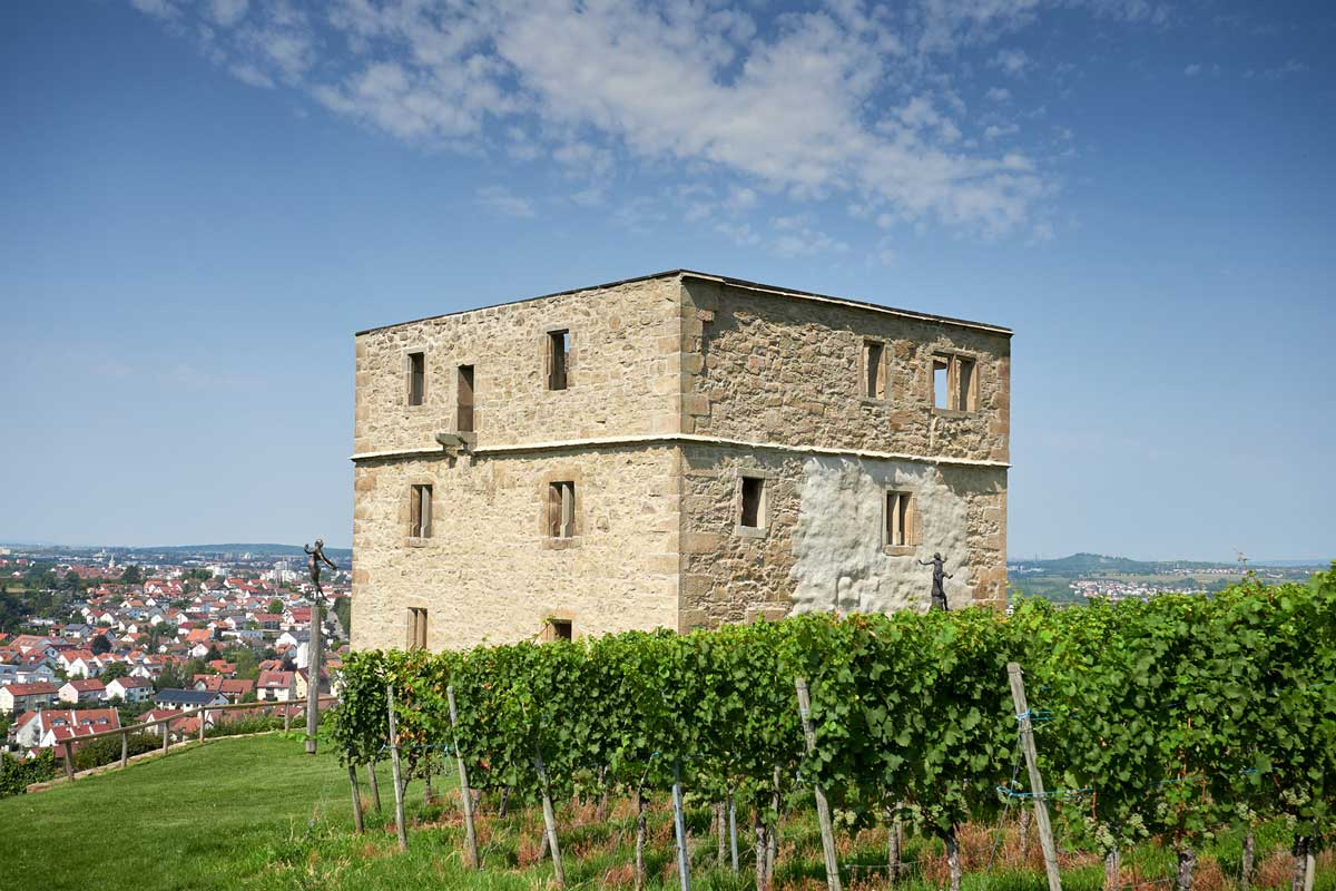 Yburg bei Kernen im Remstal - Der Württembergische Weinwanderweg