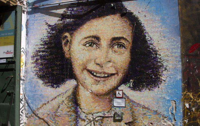 Anne Frank - Streetart Berlin