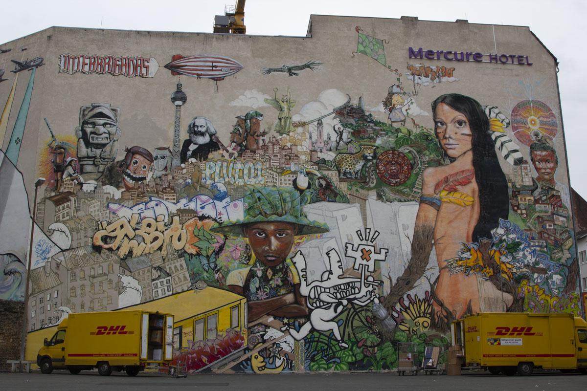 Aufstand der Farben - Streetart Berlin