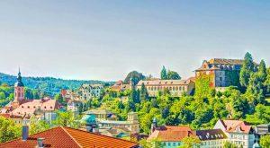 Panorama-Blick über Baden-Baden