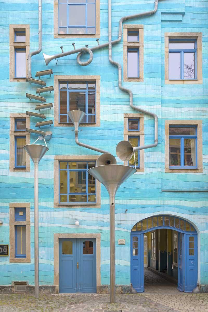 Kunsthofpassage Dresden, Hof der Elemente
