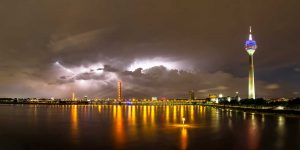 Sturm über Düsseldorf