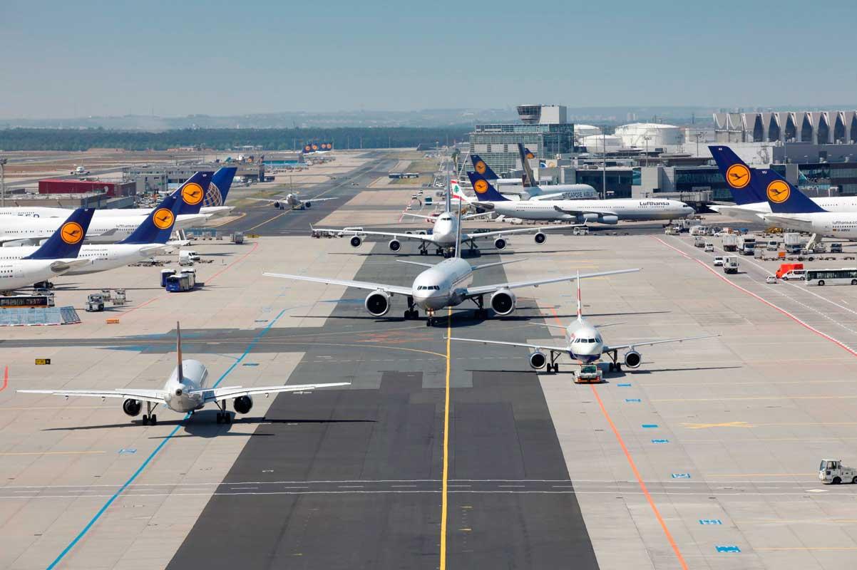 Flughafen Frankfurt, Rollfeld