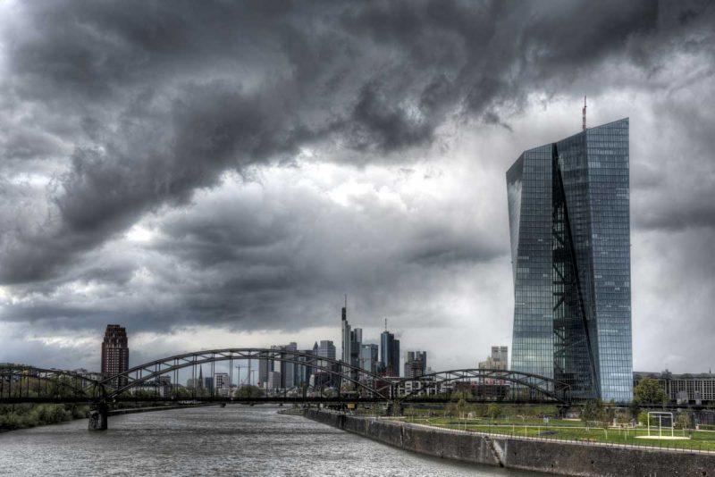 Unwetter über Frankfurt