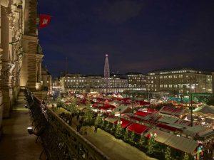 Der Historische Weihnachtsmarkt Hamburg am Rathausmarkt