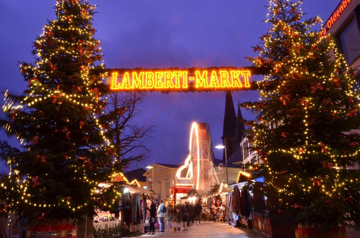 Lamberti-Markt in Oldenburg