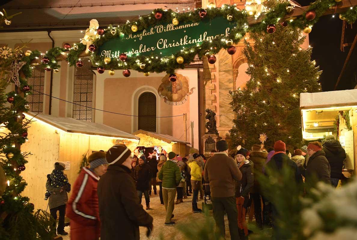Mittenwalder Christkindlmarkt - schöne Weihnachtsmärkte